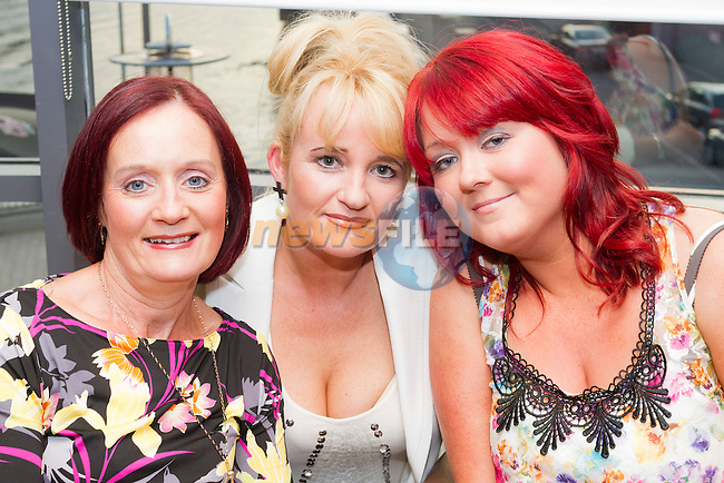 Margaret Carol, Paula James and Karen Reilly in Bru for a night out..Picture: Shane Maguire / www.newsfile.ie.