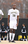 02 December 2007: Wake Forest's Lyle Adams. The Wake Forest University Demon Deacons defeated the West Virginia University Mountaineers 3-1 at W. Dennie Spry Soccer Stadium in Winston-Salem, North Carolina in a Third Round NCAA Division I Mens Soccer Tournament game.