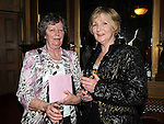 Madge and Cecilia Reilly pictured at Ettie Rogers's 90th birthday in the Glyde Inn Annagassan. Photo: Colin Bell/pressphotos.ie