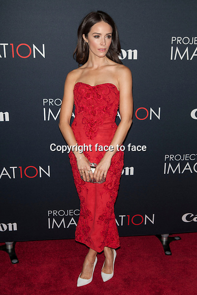 NEW YORK, NY - OCTOBER 24, 2013: Abigail Spencer attends the Premiere Of Canon's Project Imaginat10n Film Festival at Alice Tully Hall on October 24, 2013 in New York City. <br /> Credit: MediaPunch/face to face<br /> - Germany, Austria, Switzerland, Eastern Europe, Australia, UK, USA, Taiwan, Singapore, China, Malaysia, Thailand, Sweden, Estonia, Latvia and Lithuania rights only -