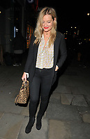 Laura Whitmore at the &quot;Kinky Boots&quot; gala performance departures, Adelphi Theatre, The Strand, London, England, UK, on Tuesday 29 May 2018.<br /> CAP/CAN<br /> &copy;CAN/Capital Pictures