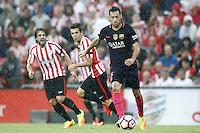 FC Barcelona's Sergio Busquets during La Liga match. August 28,2016. (ALTERPHOTOS/Acero) /NORTEPHOTO