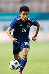 Ayase Ueda (JPN), <br /> AUGUST 19, 2018 - Football / Soccer : <br /> Men's Group D match <br /> between Japan 0-1 Vietnam <br /> at Wibawa Mukti Stadium <br /> during the 2018 Jakarta Palembang Asian Games <br /> in Cikarang, Indonesia. <br /> (Photo by Naoki Morita/AFLO SPORT)
