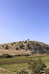 Israel, Lower Galilee, Alil Hill overlooking Wadi Zippori