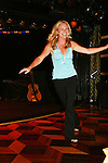 GL actors participate Beth Chamberlin walks on her hands for her talent - Talent Night at the Ebony Lounge - Day 4 Aug 3, 2010 - So Long Springfield at Sea - A Final Farewell To Guiding Light sets sail from NYC to St. John, New Brunwsick and Halifax, Nova Scotia from July 31 to August 5, 2010  aboard Carnival's Glory (Photos by Sue Coflin/Max Photos)