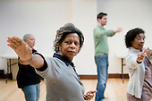 Tai Chi class, Beethoven Centre, Queens Park, London