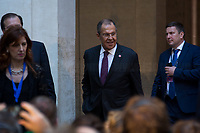 Sergey Lavrov (Minister of Foreign Affairs of the Russian Federation).<br />