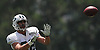 Jace Amaro #88 of the New York Jets makes a catch during team training camp at Atlantic Health Jets Training Center in Florham Park, NJ on Wednesday, Aug. 3, 2016.