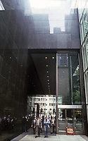 New York City: IBM Building--walkway between 56th & 57th St.
