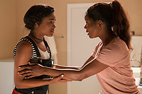 BREAKING IN (2018)<br /> AJIONA ALEXUS, GABRIELLE UNION<br /> *Filmstill - Editorial Use Only*<br /> CAP/FB<br /> Image supplied by Capital Pictures