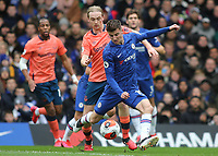 Mason Mount scores Chelsea's opening goal during Chelsea vs Everton, Premier League Football at Stamford Bridge on 8th March 2020