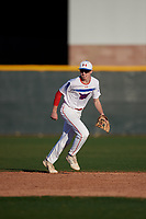 Sean McCann during the Under Armour All-America Tournament powered by Baseball Factory on January 18, 2020 at Sloan Park in Mesa, Arizona.  (Mike Janes/Four Seam Images)