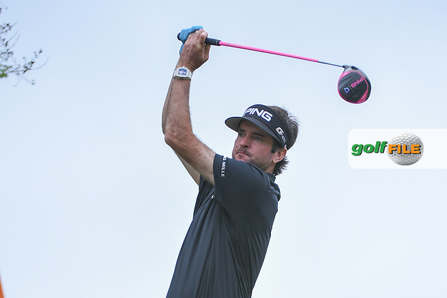 Bubba Watson (USA) watches his tee shot on 3 during day 5 of the World Golf Championships, Dell Match Play, Austin Country Club, Austin, Texas. 3/25/2018.<br /> Picture: Golffile | Ken Murray<br /> <br /> <br /> All photo usage must carry mandatory copyright credit (© Golffile | Ken Murray)
