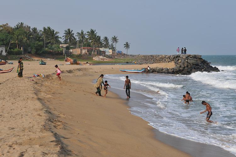 Serenity beach near Pondicherry