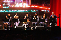 SAN FRANCISCO, CA - June 21: (L - R) Arturo Castro, Chris Redd, Jaboukie Young-White, Langston Kerman, Quinta Brunson , Jeffrey Ross, Sinbad, Ilana Glazer, Amanda Seales, and Issa Rae perform a live reading of Clueless at Clusterfest on June 21, 2019 in San Francisco, CA. photo: Ryan Myers/imageSPACE/MediaPunch