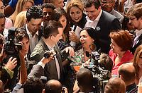 SAO PAULO, 10 DE AGOSTO DE 2012 - ELEICOES 2012 RUSSOMANNO - O candidato do PRB a prefeitura de Sao Paulo, Celso Russomanno acompanhado do seu vice Luiz Flavio D'Urso durante visita ao Mercado Municipal, regiao central da capital, no inicio da tarde desta sexta feira. FOTO: ALEXANDRE MOREIRA - BRAZIL PHOTO PRESS
