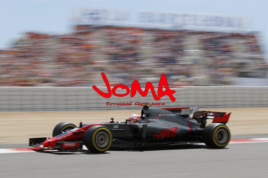 Kevin Magnussen (DEN) Haas  at  Formula 1, Spanish Grand Prix, Barcelona.