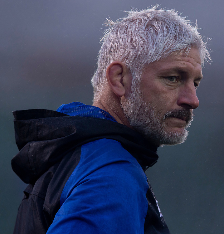 Bath Rugby's Head Coach Todd Blackadder<br /> <br /> Photographer Bob Bradford/CameraSport<br /> <br /> Gallagher Premiership Round 9 - Bath Rugby v Sale Sharks - Sunday 2nd December 2018 - The Recreation Ground - Bath<br /> <br /> World Copyright &copy; 2018 CameraSport. All rights reserved. 43 Linden Ave. Countesthorpe. Leicester. England. LE8 5PG - Tel: +44 (0) 116 277 4147 - admin@camerasport.com - www.camerasport.com