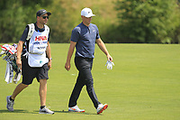Alex Noren (SWE) on the 1st fairway during Round 4 of the HNA Open De France at Le Golf National in Saint-Quentin-En-Yvelines, Paris, France on Sunday 1st July 2018.<br /> Picture:  Thos Caffrey | Golffile