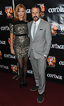 """Kristen Dalton and co-star David Arquette at the Los Angeles Premiere of """"The Cottage"""" held at The Academy of Motion Pictures Arts and Sciences September 28, 2012."""