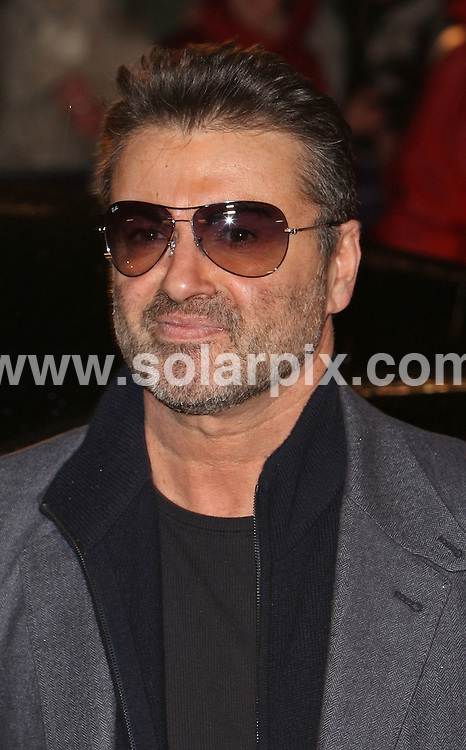 **ALL ROUND PICTURES FROM SOLARPIX.COM**.**WORLDWIDE SYNDICATION RIGHTS**.Guests attend the UK film premiere of 'Sleuth' at the Odeon West End, Leicester Square, London. 18th November 2007..This pic: George Michael..JOB REF: 5345 SSD     DATE: 18_11_2007.**MUST CREDIT SOLARPIX.COM OR DOUBLE FEE WILL BE CHARGED* *UNDER NO CIRCUMSTANCES IS THIS IMAGE TO BE REPRODUCED FOR ANY ONLINE EDITION WITHOUT PRIOR PERMISSION*
