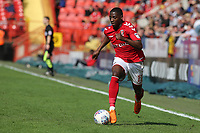 Sullay Kaikai of Charlton Athletic in action during Charlton Athletic vs Scunthorpe United, Sky Bet EFL League 1 Football at The Valley on 14th April 2018