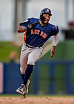 27 February 2019: Houston Astros outfielder Ronnie Dawson in pre-season action against the Washington Nationals at the Ballpark of the Palm Beaches in West Palm Beach, Florida. The Nationals defeated the Astros 14-8 in their Spring Training Grapefruit League matchup. Mandatory Credit: Ed Wolfstein Photo *** RAW (NEF) Image File Available ***