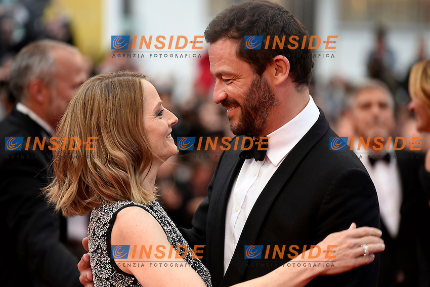 Jodie Foster, Dominic West<br /> Festival di Cannes 2016 <br /> Foto Panoramic / Insidefoto