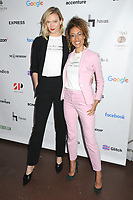 10 April 2019 - New York, New York - Karlie Kloss and Elaine Welteroth at the 2019 Lower Eastside Girls Club Spring Fling, at the Angel Orensanz Foundation on the Lower East Side. Photo Credit: LJ Fotos/AdMedia