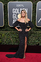 Renee Bargh arrives at the 75th Annual Golden Globes Awards at the Beverly Hilton in Beverly Hills, CA on Sunday, January 7, 2018.<br /> *Editorial Use Only*<br /> CAP/PLF/HFPA<br /> &copy;HFPA/Capital Pictures