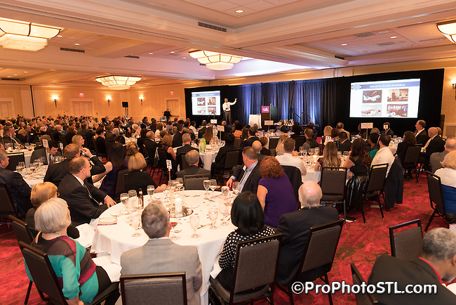 Voices for Children 2016 gala event at Marriott St. Louis Grand Hotel on April 21, 2016.