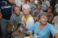 A senten&ccedil;a<br /> <br /> Raifran e Clodoaldo no banco dos r&eacute;us. <br /> <br /> Julgamento de Raifran das Neves Sales o Fogoi&oacute; e Clodoaldo Carlos Batista ,conhecido como Eduardo, pelo  pelo assassinato da mission&aacute;ria americana Dorothy Mae Stang ocorrido  no munic&Igrave;pio de Anap&uacute; no estado do Par&aacute; em 12/02/2005.Bel&eacute;m, Par&aacute;, Brasil.Foto Paulo Santos/Interfoto<br /> 10/12/2005
