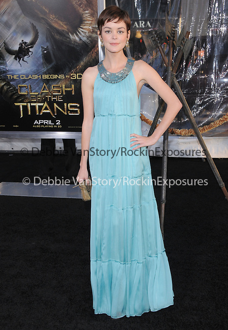 Nora Zehetner at The Warner Bros. Pictures L.A. Premiere of Clash of The Titans held at The Grauman's Chinese Theatre in Hollywood, California on March 31,2010                                                                   Copyright 2010  DVS / RockinExposures