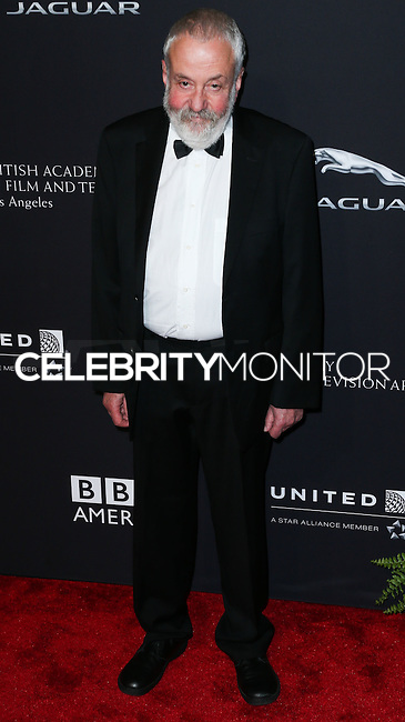 BEVERLY HILLS, CA, USA - OCTOBER 30: Mike Leigh arrives at the 2014 BAFTA Los Angeles Jaguar Britannia Awards Presented By BBC America And United Airlines held at The Beverly Hilton Hotel on October 30, 2014 in Beverly Hills, California, United States. (Photo by Xavier Collin/Celebrity Monitor)