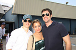 One Life To Live Eddie & Kristen Alderson and Tom Degnan  - Celebrities take a break and enjoy themselves on the pontoon boat - SWSL Soapfest Charity Weekend May 14 & 15, 2011 benefitting several children's charities including the Eimerman Center providing educational & outfeach services for children for autism. see www.autismspeaks.org. (Photo by Sue Coflin/Max Photos)