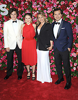 NEW YORK, NY - JUNE 10: John Leguizamo and family attends the 72nd Annual Tony Awards at Radio City Music Hall on June 10, 2018 in New York City.  <br /> CAP/MPI/JP<br /> &copy;JP/MPI/Capital Pictures