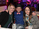 Martina Hughes, Phil Woods and Clare Toner at the MS fundraiserin the Valley Inn. Photo:Colin Bell/pressphotos.ie