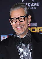 10 October  2017 - Hollywood, California - Jeff Goldblum. World Premiere of &quot;Thor: Ragnarok&quot; held at The El Capitan Theater in Hollywood. <br /> CAP/ADM/BT<br /> &copy;BT/ADM/Capital Pictures