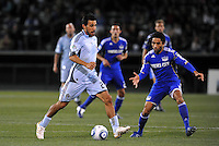 Pablo Mastronei (turq), Stephane Auvray...Kansas City Wizards defeated Colorado Rapids 1-0 at Community America Ballpark, Kansas City, Kansas.