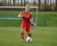 Women U15 : Belgian Red Flames - Nederland :<br /> <br /> Rune Fioole<br /> <br /> foto Dirk Vuylsteke / Nikonpro.be