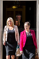Sinn Fein delegation: Michelle O&rsquo;Neill (Leader in Stormont), Gerry Adams (President), Mary Lou McDonald and Elisha McCalon.  <br />