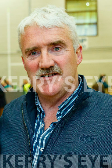 Ristard and Sonny Foran pictured at the count centre in Killarney on Sunday last.