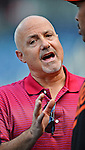 18 May 2012: Washington Nationals General Manager Mike Rizzo chats about baseball prior to a game against the Baltimore Orioles at Nationals Park in Washington, DC. The Orioles defeated the Nationals 2-1 in the first game of their 3-game series. Mandatory Credit: Ed Wolfstein Photo