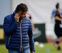 Cristiano Giuntoli durante il  ritiro precampionato del SSC Napoli a Dimaro<br />  05 Luglio  2017