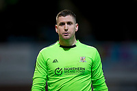 3rd March 2020; Dens Park, Dundee, Scotland; Scottish Championship Football, Dundee FC versus Alloa Athletic; Goalie Neil Parry of Alloa Athletic