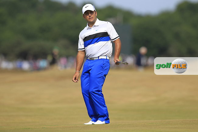 Francesco MOLINARI (ITA) during round 3 of  The 142th Open Championship Muirfield, Gullane, East Lothian, Scotland 20/7/2013<br /> Picture Eoin Clarke www.golffile.ie: