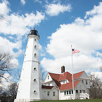 """North Point Lighthouse""  Milwaukee, Wisconsin 