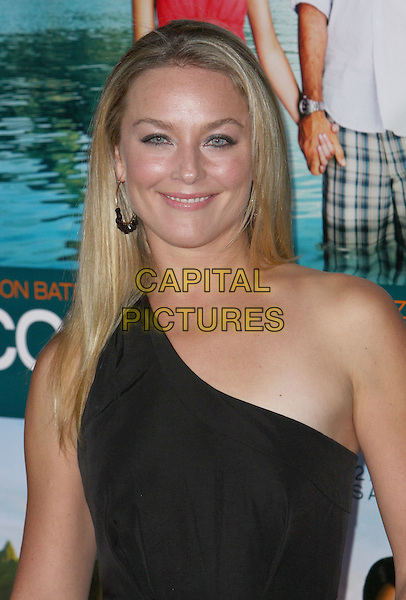 "ELISABETH ROHM.""Couples Retreat"" Los Angeles Premiere held at Mann Village Theatre, Westwood, CA, USA..October 5th, 2009.half length black one shoulder elizabeth hoop earrings .CAP/ADM/CH.©Charles Harris/AdMedia/Capital Pictures"