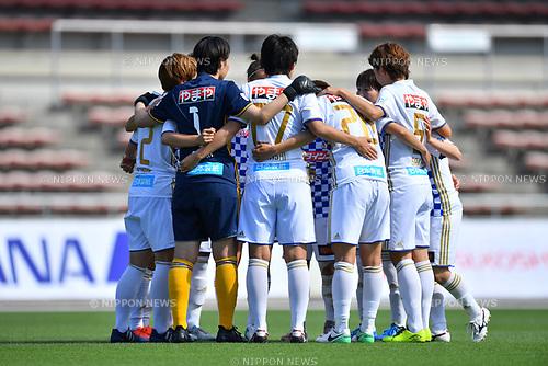 ォソャ シケ/Mynavi Vegalta Sendai Ladies team group (Vegalta Ladies), <br /> JUNE 17, 2017 - Football / Soccer : <br /> Plenus Nadeshiko League Cup 2017 Division 1 <br /> match between Urawa Reds Ladies 0-0 Vegalta Sendai Ladies <br /> at Saitama Urawa Komaba Stadium in Saitama, Japan. <br /> (Photo by MATSUO.K/AFLO SPORT)