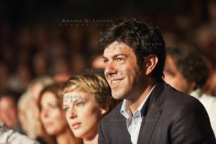 PESCARA (PE) 08/07/2012 - 39° FILM FESTIVAL INTERNAZIONALE FLAIANO. PREMIAZIONE FINALE. IN FOTO L'ATTORE PIERFRANCESCO FAVINO .FOTO DI LORETO ADAMO